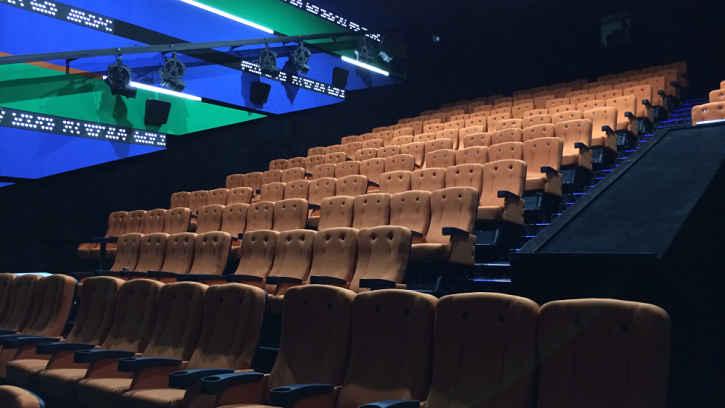 Sala cinema 4D