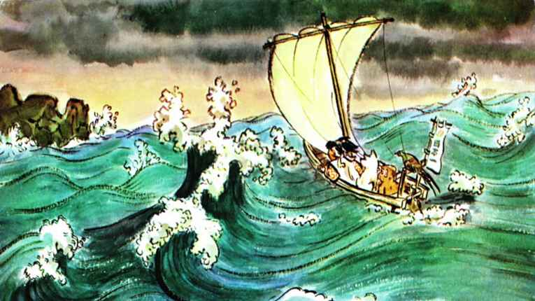 Viagem de barco Momotaro