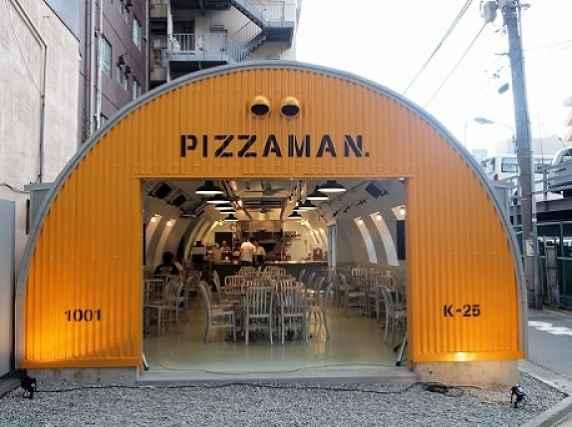 Fachada Pizzaman