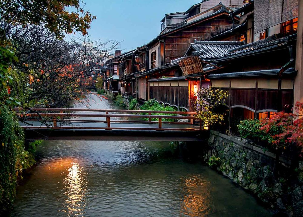 Canal da Shirakawa Area