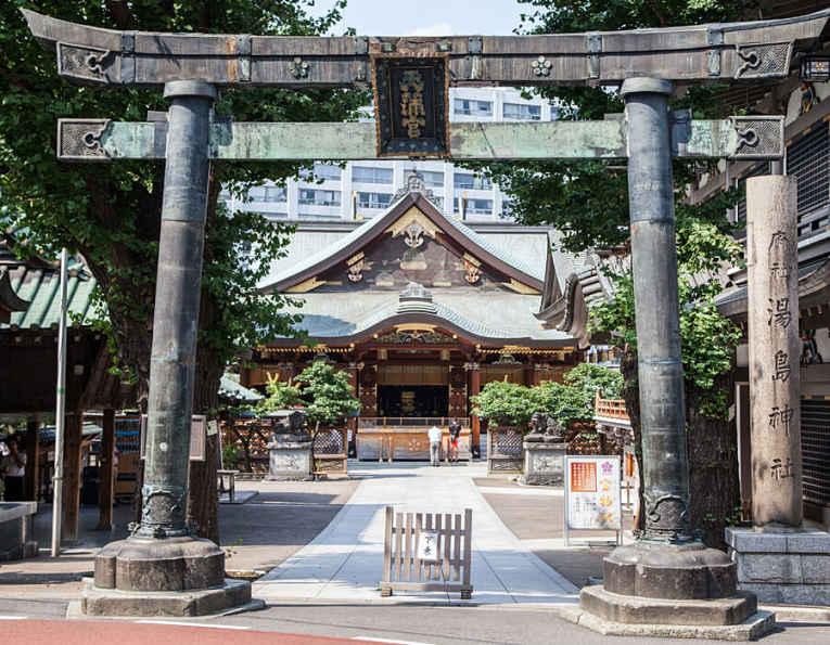 Templo japonês Yushima Tenman-gu