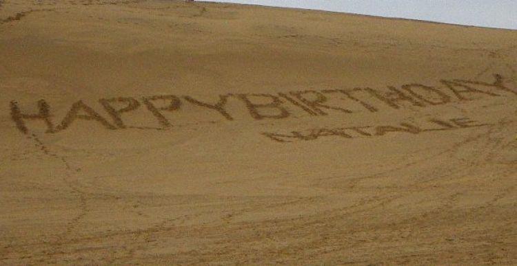 Escritas nas dunas de tottori