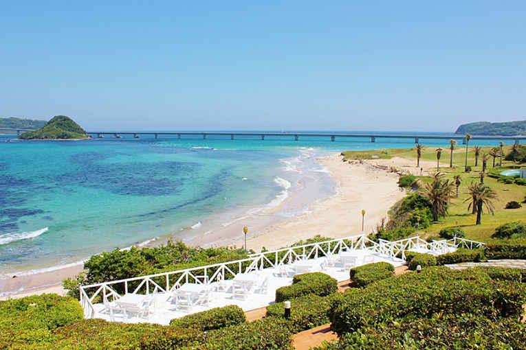 Praia em Tsunoshima