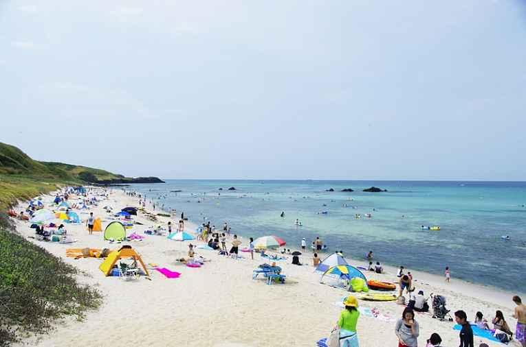 praia da Ilha tsunoshima