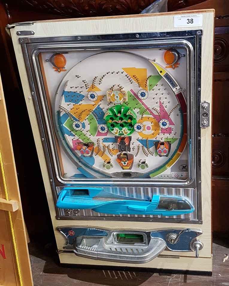 Máquina de Pachinko dos anos 70
