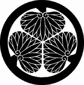 Brasão Tokugawa.