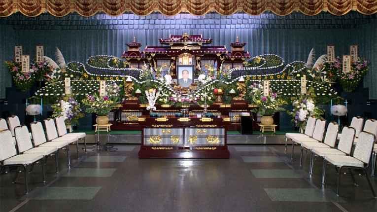 cerimônia funeral