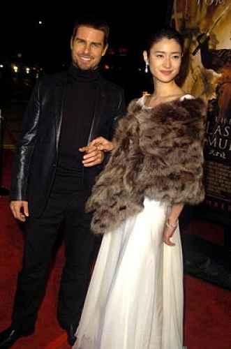 Koyuki Kato e Tom Cruise