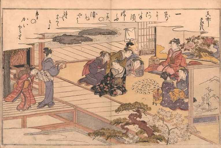 Ilustração período Edo