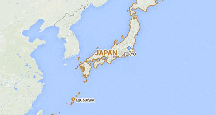 Okinawa no mapa