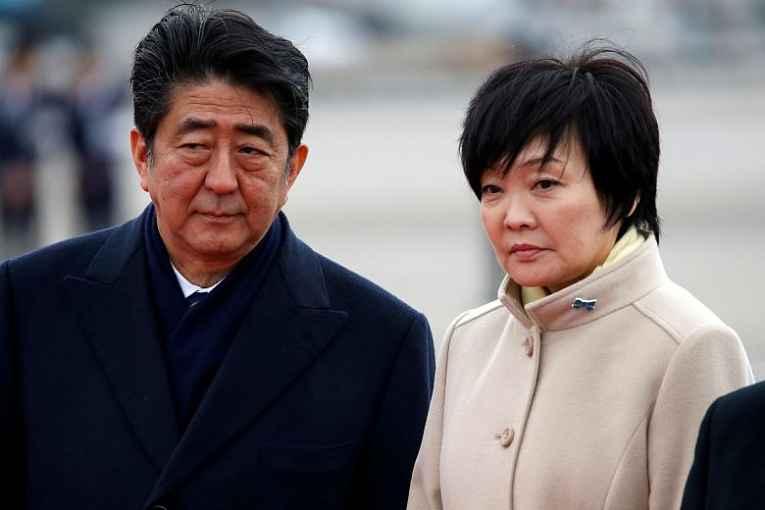 Shinzo Abe e Akie Abe