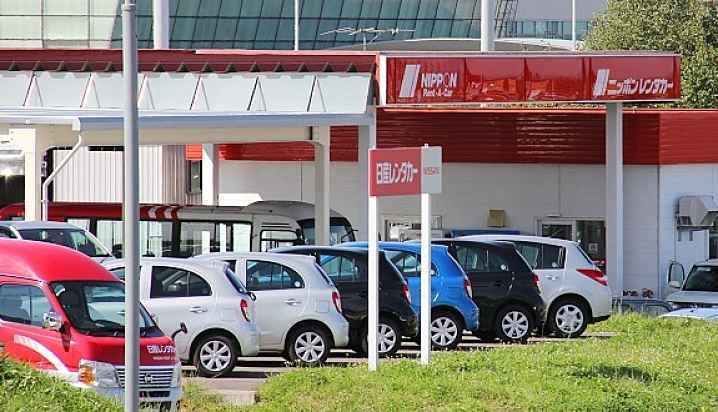 empresa de aluguel de carro no Japão