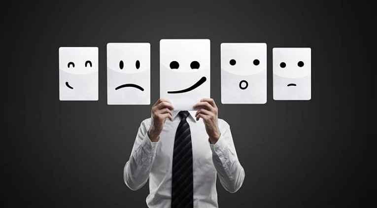 Emoções diferentes