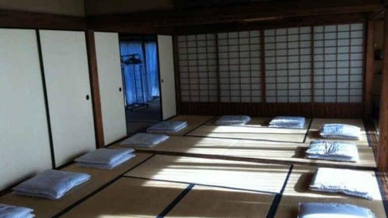 Sala de meditacção templo Korin-In