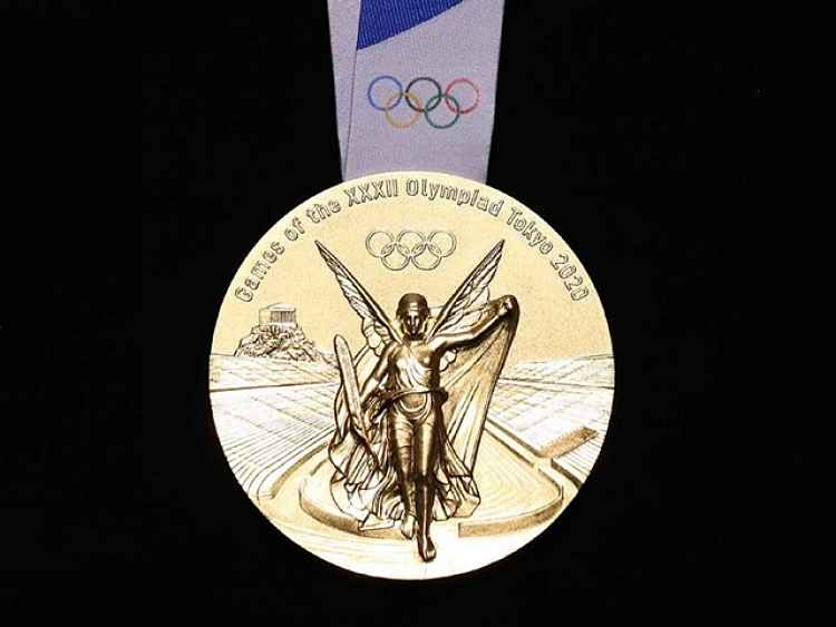 Medalha ouro Tokyo 2020