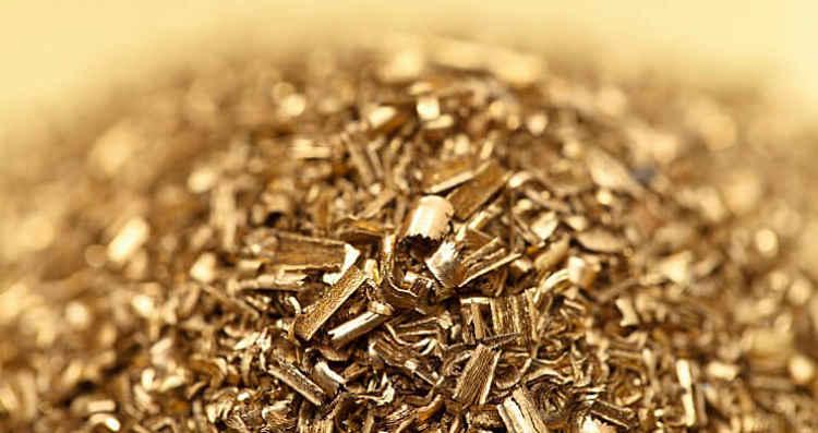 matéria-prima de metal