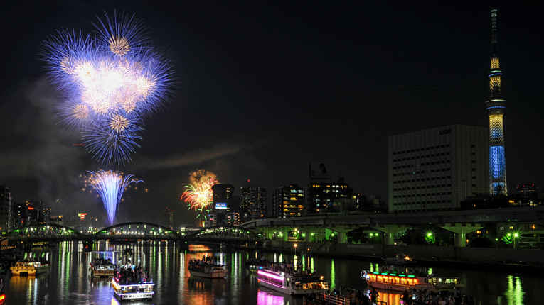 Hanabi do rio Sumida