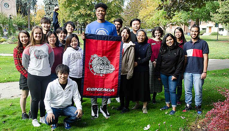 Hachimura na Universidade de Gonzaga