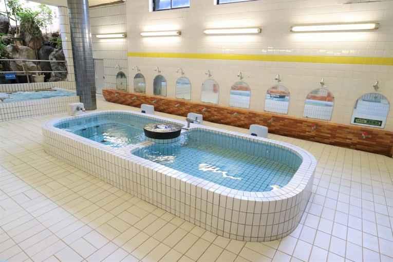 Casa de banho pública no Japão