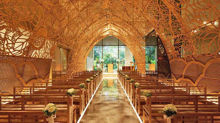 Capela de casamento no Japão