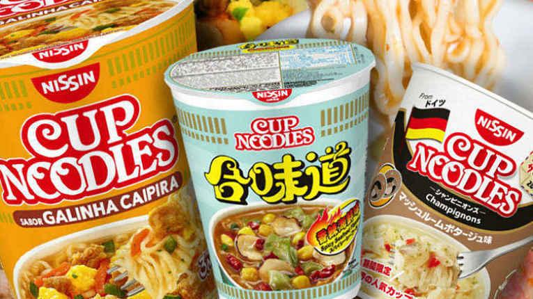 Cup Noodles do mundo