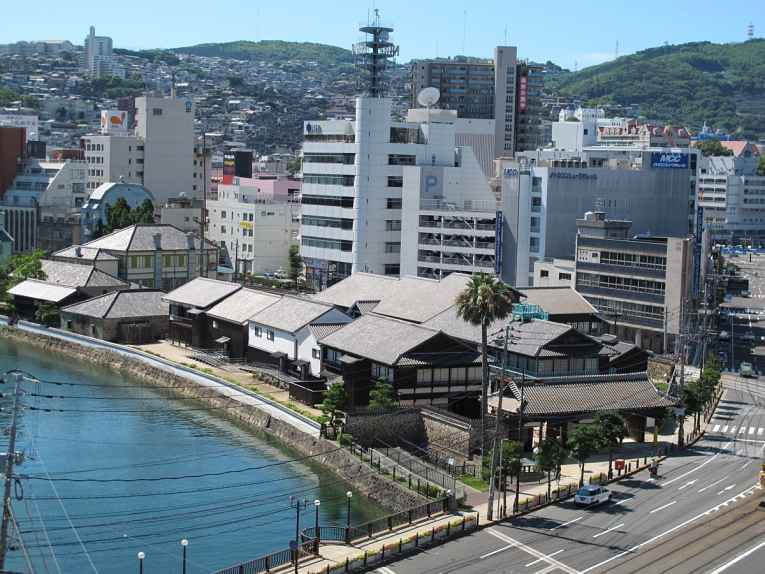Vista de Dejima