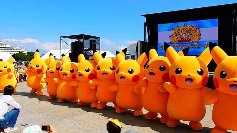 Pikachus gigantes