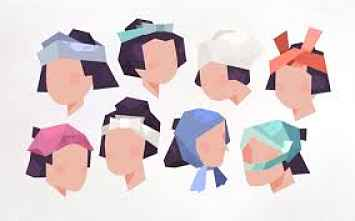 Formas de amarrar tenugui na cabeça