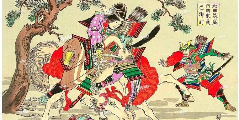 onna-musha Tomoe Gozen