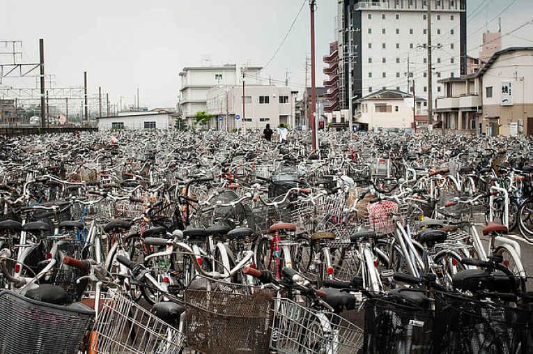 Bicicletas no Japão
