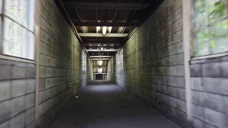 corredor da estação
