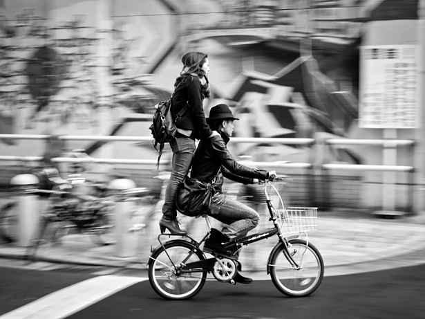 Carona na bike