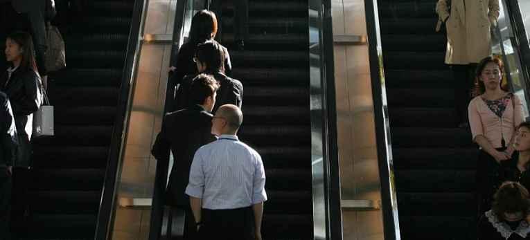 Escada rolante Tokyo