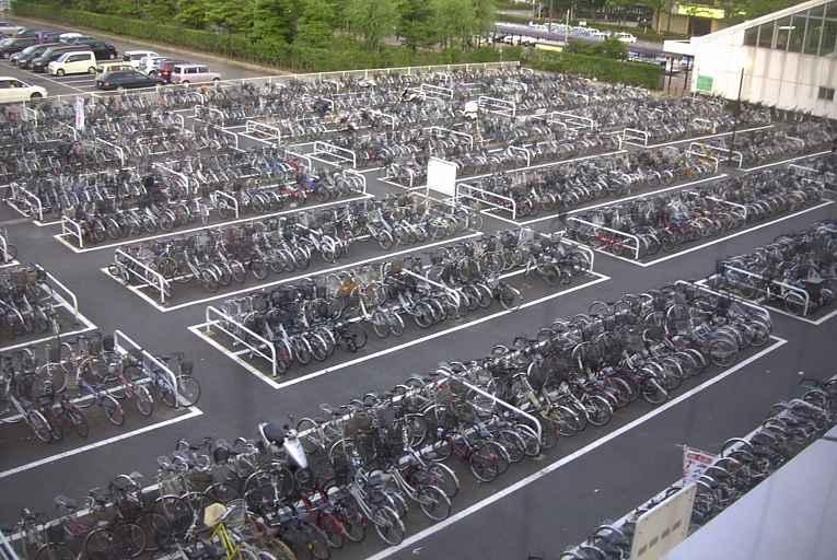 Estacionamento em Niigata