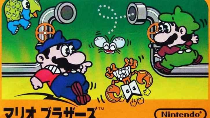 Mario Bros capa