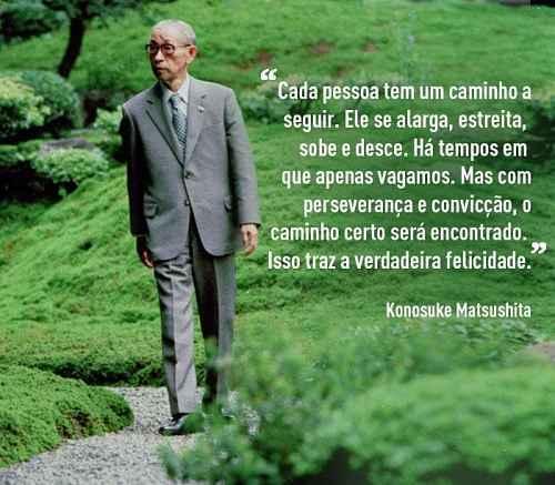 Frase de Matsushita