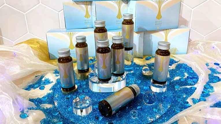 Vários frascos de Hyalmoist