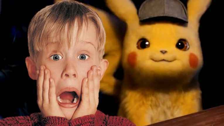 Macauley Culkin e Pikachu