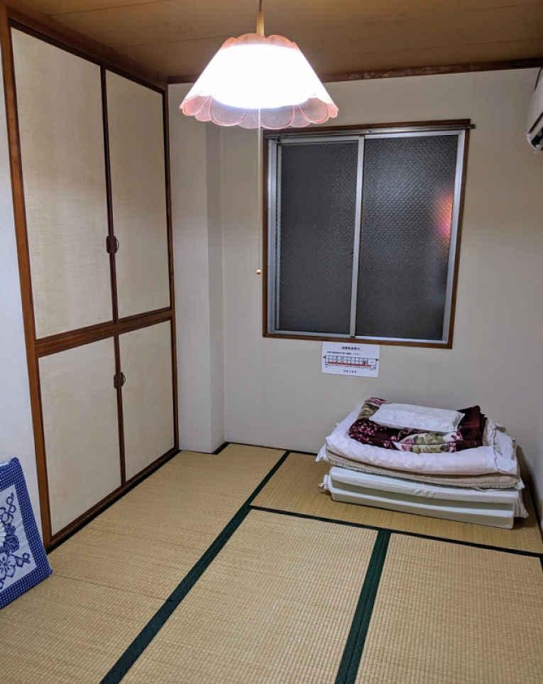 Visão geral do quarto