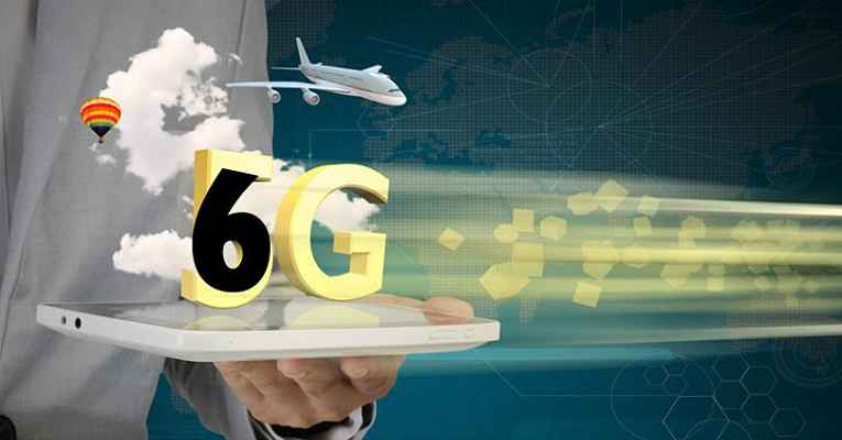 Rede 6G sobreposta a 5G