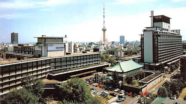 Hotel Okuta construção antiga