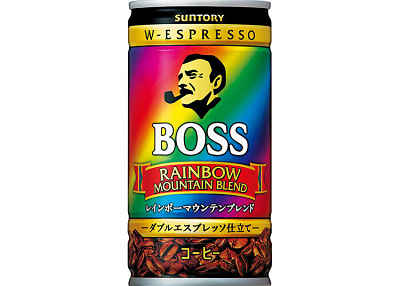 Café enlatado Rainbow Boss