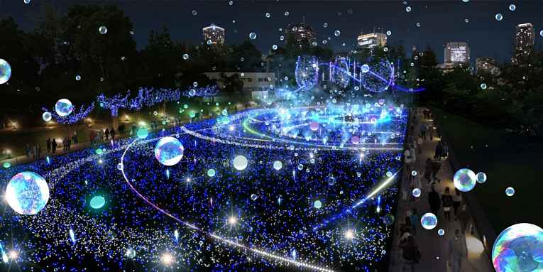 Luzes do Starlight Garden