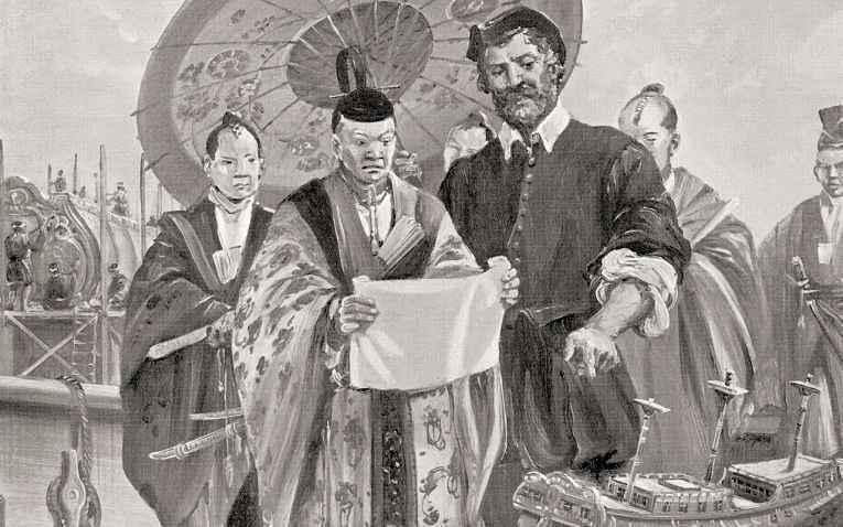 Miura Anjin e Tokugawa Ieyasu